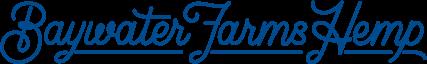 Baywater Farms Hemp Script Logo